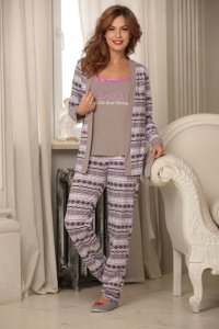 комплект пижама+майка
