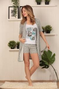 комплект халат+шорты